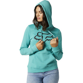 Fox Boundary Fleece Pullover Women, teal